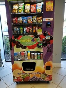 4 Combo Snack drink Vending Machine Business W Established Profitable Locations
