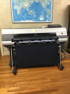 Canon Imageprograf Ipf815 44 Large Format Printer Plotter