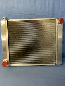 New Universal Fabricated Aluminum Racing Radiator Ford mopar 24 x19 x3
