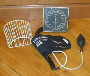 Welch Allyn Tycos Wall Aneroid Sphygmomanometer Adult Cuff Gauge