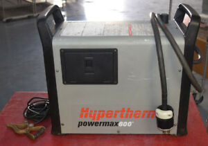 Hypertherm Powermax600 Plasma Cutter Requires 480v 3 Phase Power Input