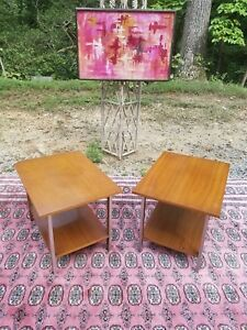 Pair Of Paul Mccobb Mid Century End Table