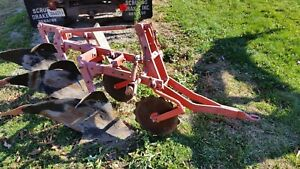 Allis Chalmers 3 16 Snap Coupler Mounted Plow