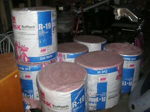R19 Insulation Kraft Faced Thermal Sound Control Stud Joists Fiberglass 7 rolls