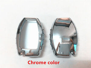 1x Chrome Tpu Car Remote Key Cover Protective Case Trim Fit For C E Ml Cla Gla