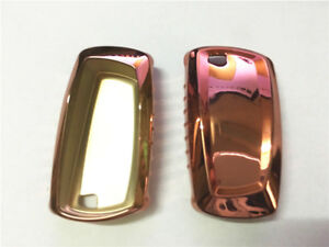 1pcs Pink Tpu Car Remote Key Cover Protective Case Trim For 2 3 4 5 Series M5 M6