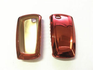 1pcs Red Tpu Car Remote Key Cover Protective Case Trim For 1 3 5 Series M3 M4 M5