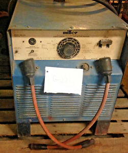 Miller Srh 333 Dc Arc Welder Power source Inspected Certified