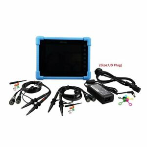 To1104 Digital Tablet Oscilloscope 4 Channels Touchscreen Auto Measurements