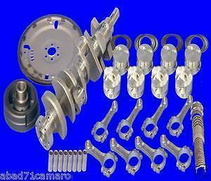 Eagle Sbc Stroker Kit 383 Balanced Rotating Assembly 60 1pc Rear Main Seal 350