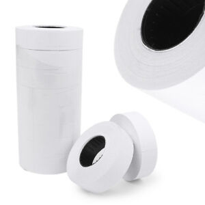 10pcs Price Label Rolls Retail Store Pricing Gun Sticker Tag Refill For Mx 6600