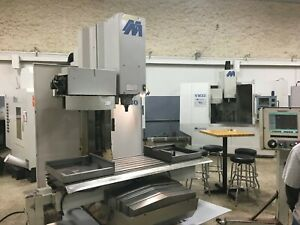 Milltronics Model Rh30 Cnc Vertical Bed Mill Milling Machine Conversational