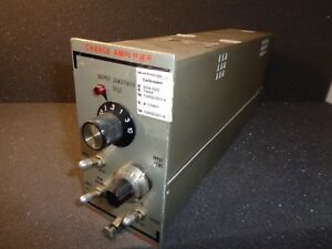 Unholtz dickie Model 122p Charge Amplifier