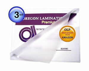 3 Mil Menu Laminating Pouches 12 X 18 Laminator Sleeves Qty 100
