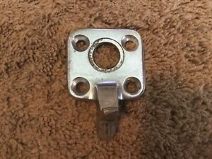 1940 Mercury Convertible Top Latch Catch Dowel Center W antenna Hole Chrome