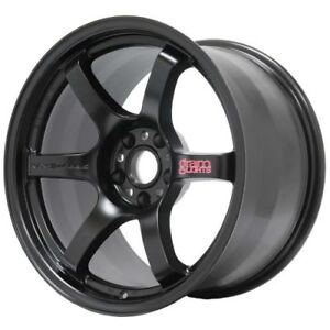 Gram Lights Wgix38eh 57dr Wheel 18x9 5 38 5x114 3 Semi Gloss Black