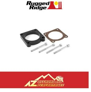 Rugged Ridge Throttle Body Spacer 07 11 Jeep Wrangler Jk 3 8l V6 Black