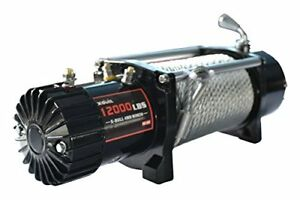 X Bull 12v Steel Cable Electric Winch 12000 Lb Load Capacity