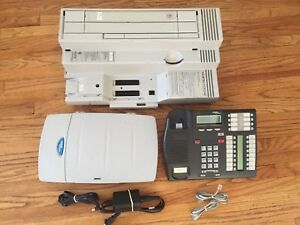 Nortel Norstar Plus Compact Ics Phone System With Call Pilot 100 Voicemail