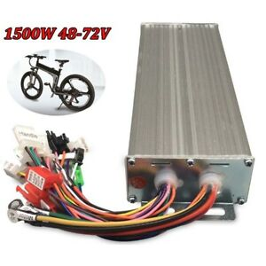 Dc 48 72v 1500w Electric Brushless Motor Speed Controller For E bike Scooter Us