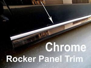 2003 2019 Kamodels Chrome Side Rocker Panel Trim Molding Kit 2pc