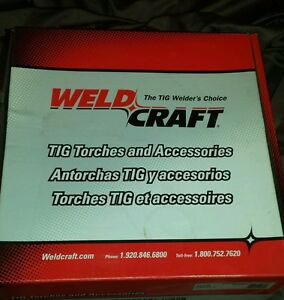 Weldcraft Ek 1 25 25 Water Cooled Tig Torch Extension Cable Set