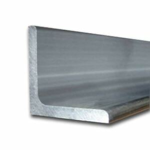 6061 t6 Aluminum Structural Angle 2 1 2 X 3 1 2 X 48 Long 1 4