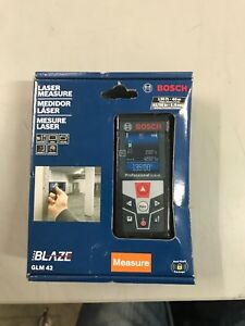 Bosch Blaze Glm 42 135 Ft Laser Measure new