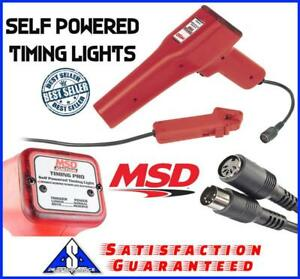 Msd 8991 Self Powered Timing Lights Detachable Lead 6 Aaa Cell Batteries Plastic