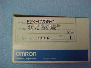 Omron Capacitive Proximity Switch P n E2k c25my1 90 250 Vac New In The Box