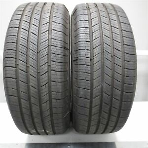 235 65r16 Michelin Defender T h 103h Tire 10 32nd Set Of 2 No Repairs