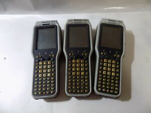 Lot Of 3 Intermec Ck31 Laser Barcode Scanner