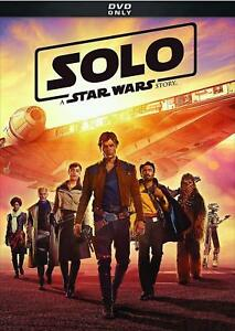 SOLO: A STAR WARS STORY (NEW DVD 2018 PRE-ORDER SHIPS 09252018