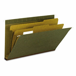 Smead 100 Recycled Hanging File Folders 2 Dividers 1 Case 9 Boxes Of 10