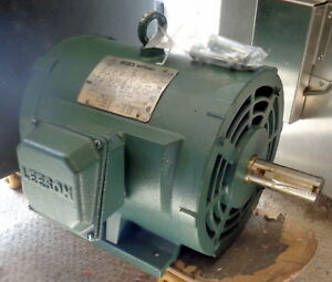Leeson Wattsaver 7 5 Hp Electric Motor New And Never Used