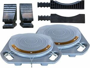 Zackman Scientific Wheel Alignment Turn Plate Turnable With 4 Ton Capacity Fre