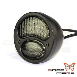 Retro Round Led Duolamp Tail Light For Ford Model A 1928 1931 Harley Choppers