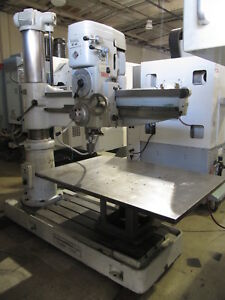 Ing Giovanni Breda R1200l Radial Drill 47 Working Radius Made In Italy