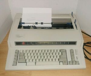 Ibm Personal Wheelwriter 2 Electronic Typewriter 6781 025 Tested And Working