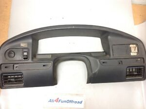 1992 1996 Ford F150 F250 F350 Bronco Dash Trim Speedometer Instrument Bezel Trim