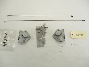 1959 1960 Chevy El Camino Wagon Tailgate Latch Mechanisms Left Right Center Oem