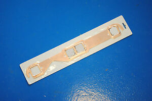 Sbc Solid Copper Exhaust Manifold Gaskets Headers Header Small Block Chevy