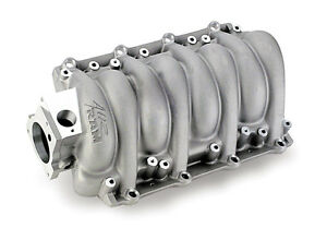 Holley Ls1 Ls6 Cathedral Port High Flow Intake Manifold Satin 300 111