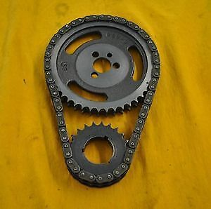Sbc Chevy Double Row Timing Chain Set 350 383 400