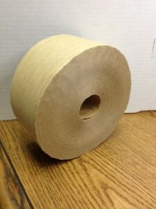 10ea 450 Ft Large Roll Reinforced Brown Kraft Paper Sealing Tape