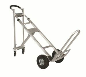 Wesco Spartan Iii Tpa Convertible 3 Position Hand Truck 750 Capacity