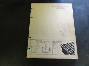 John Deere 25 Pull Type 6 And 7 Foot Cut Combine Parts Catalog Pc 267