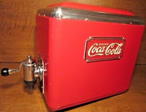 Vintage 1930 s Coca cola Multiplex Soda Fountain Dispenser St Louis model 522