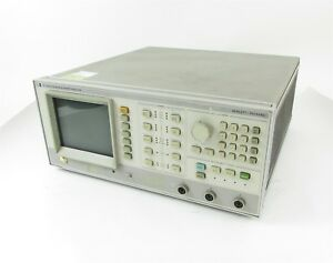 Hp 8756a Scalar Network Analyzer 10 Mhz To 60 Ghz W 10833d Gpib Cable