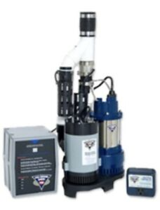 Phcc Pro Series Ps c33 3000 Gallons Per Hour 1 3 Hp Combination Sump Pump System